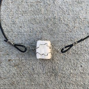 Handmade Wire Wrapped Choker Necklace